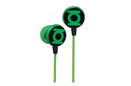 Auriculares Green Lantern Logo