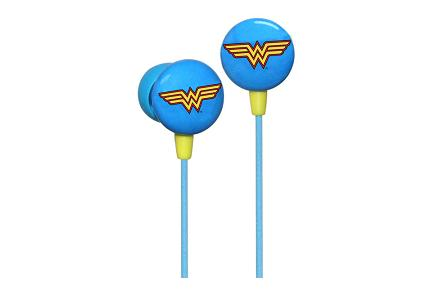 Auriculares Wonder Woman Logo