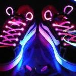 Cordones de colores LED impermeables