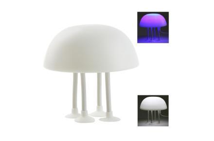 Lámpara con forma de medusa