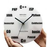Reloj de pared para los informáticos ¡más frikis!