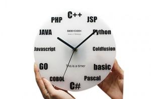 Reloj de Lenguajes de Programación