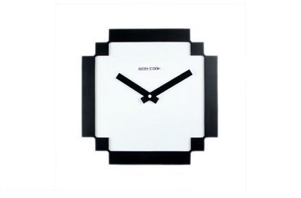 Reloj de pared pixelado