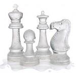 Set de ajedrez de hielo, para un juego rápido