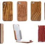 Fundas y cubiertas de iPhone e iPad de madera