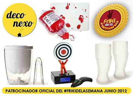 Llega el #FrikiDeLaSemana de Junio con 4 nuevos regalos para sortear cortesía de Deconexo