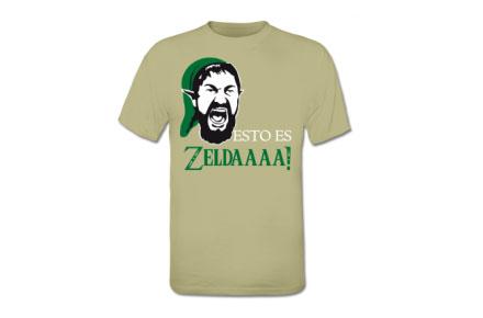 Camiseta 300 Zelda