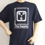 Camiseta condensador de fluzo, Regreso al futuro