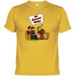 Camiseta The Big Bang Theory al estilo de Los Simpsons