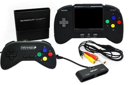 Consola Portátil NES y SNES