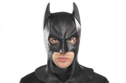 Máscara de Batman de alta calidad