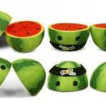 Peluche Sandía Fruit Ninja ¡Practica tus cortes!