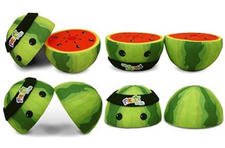 Peluche Sandia Fruit Ninja