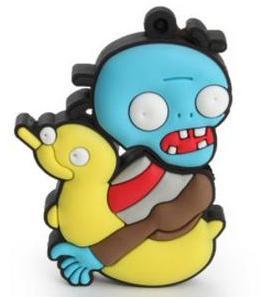 Zombie con flotador