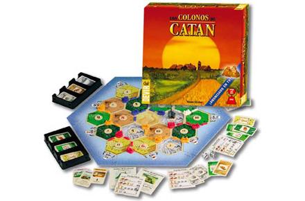 Juego los Colonos de Catan