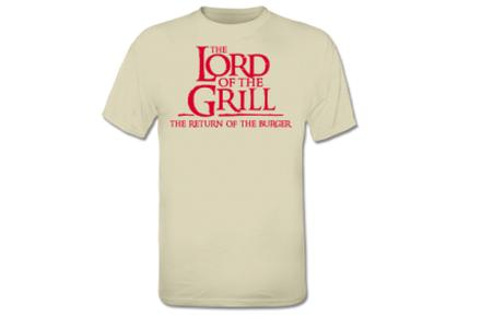 "Camiseta ""The Lord Of The Grill"""