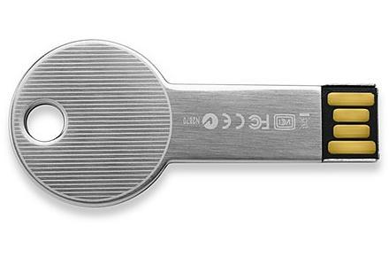 Memoria USB con forma de llave