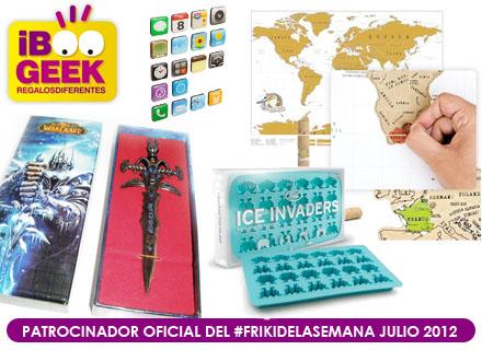 Friki de la Semana Julio 2012 patrocinado por iBoogeek