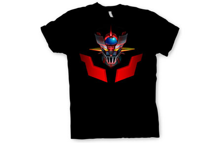 regalos frikis camiseta mazinger z Camiseta Mazinger Z rostro