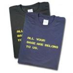 Camiseta de Zero Wing