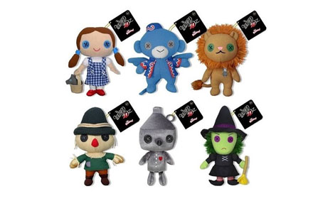 Pack 6 peluches del Mago de Oz