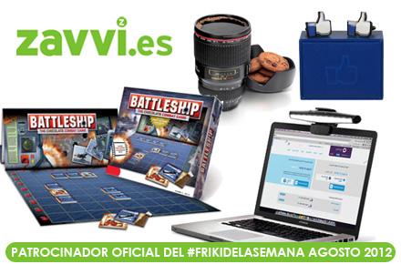 Friki de la Semana Agosto 2012 patrocinado por Zavvi España