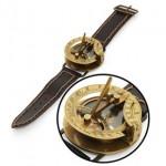 Reloj de sol y brújula Steampunk
