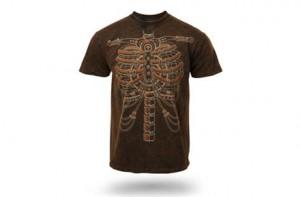 Camiseta Steampunk Skeleton