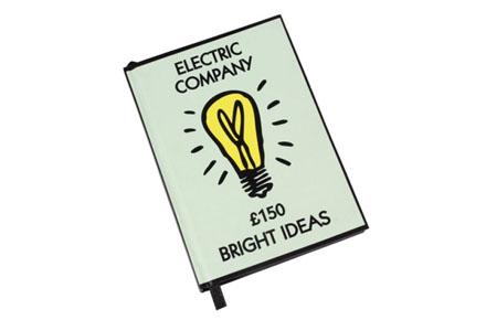 """Cuaderno Monopoly """"Ideas Brillantes"""""""