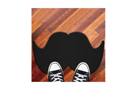 regalos frikis felpudo seor moustache Felpudo Seor Moustache