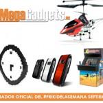 Sorteamos 4 nuevos regalos en el #FrikiDeLaSemana de Septiembre con MegaGadgets