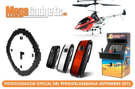 Friki de la Semana Septiembre 2012 patrocinado por MegaGadgets