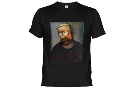 Camiseta Ecce Homo Homer Simpson