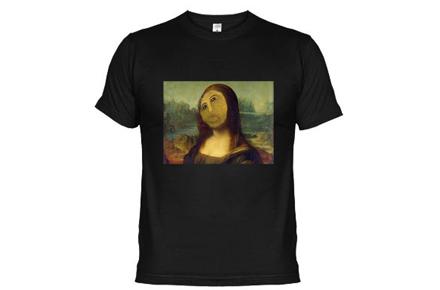 Camiseta Ecce Homo Mona Lisa