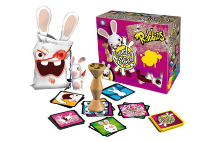 Jungle Speed versión Rabbids