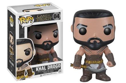 Muñeco Juego de Tronos Khal Drogo