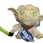 Peluche Yoda, ¡Que la fuerza te acompañe!