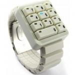 Reloj Click Keypad, ¡Para los informáticos más frikis!