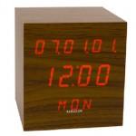 Para los frikis más manitas, ¡Reloj Digital de madera!