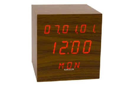 Reloj Digital de Madera