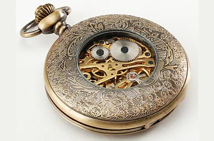 Reloj estilo Steampunk