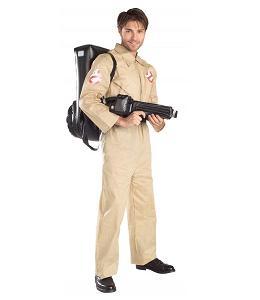 Disfraces frikis para Halloween 2012: Disfraz friki de Cazafantasmas