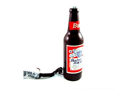 Teléfono botella de cerveza