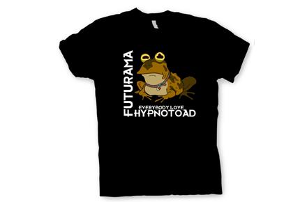 "Camiseta ""Hypnotoad"" de Futurama"