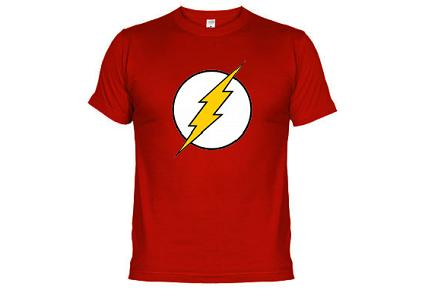 Camiseta de Sheldon Flash