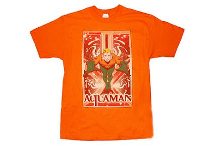 Camiseta de Sheldon Aquaman