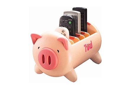 Cerdo almacenador de mandos