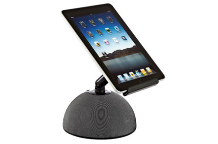 Soporte con brazo inclinable para iPad o tablet