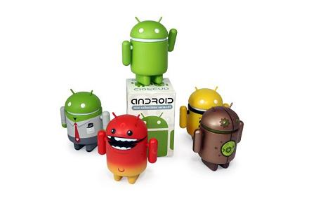 universo original figuras android series 01 Figuras Android Mini Series 01