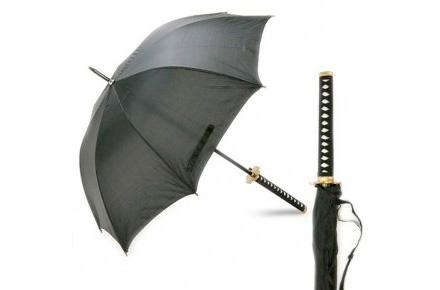 Paraguas Katana Samurai